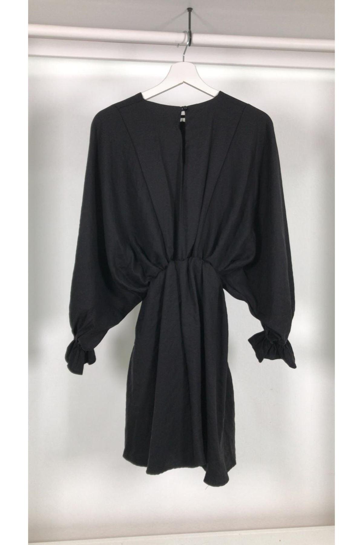 Zara elbise SİYAH