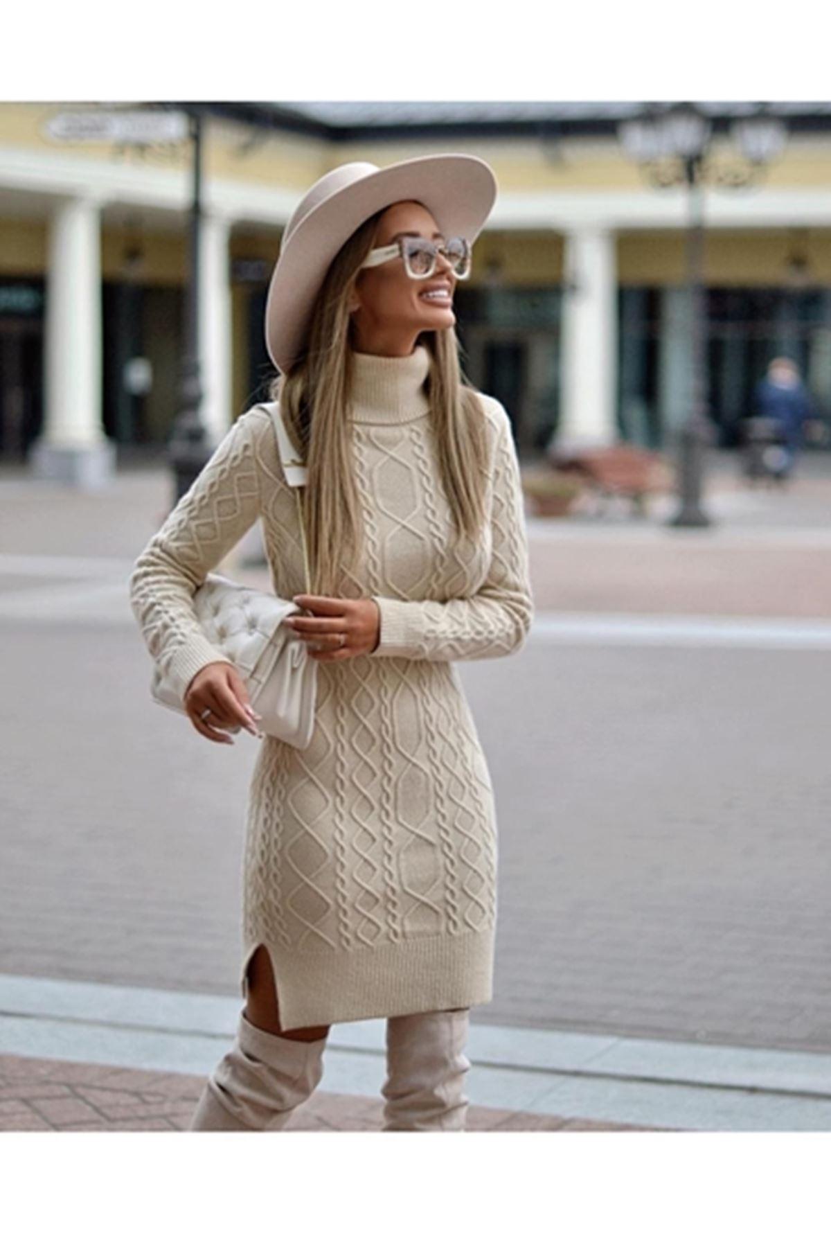 Фотосессия Вязаное Платье
