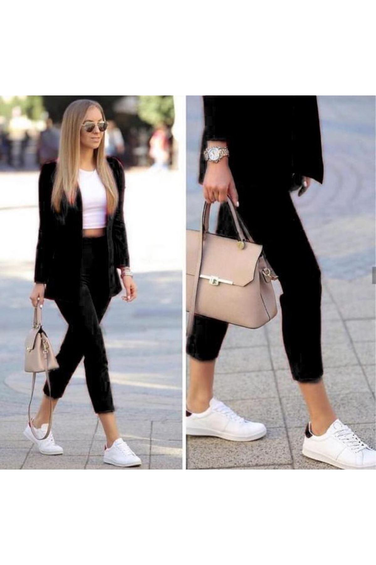 Bilek Pantolon İkili Klasik Takım - Siyah