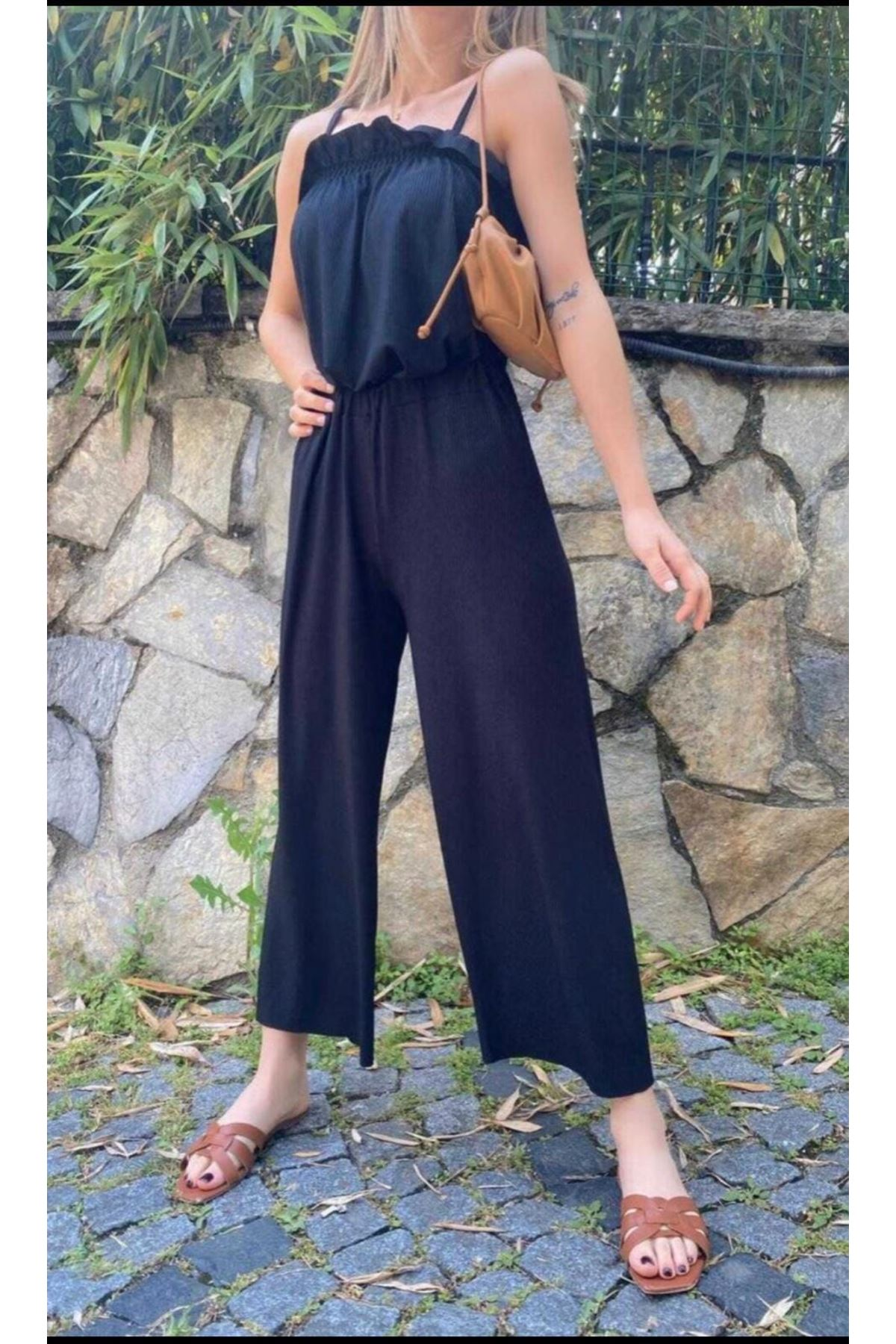 Zara Model Rahat İkili Takım - SİYAH