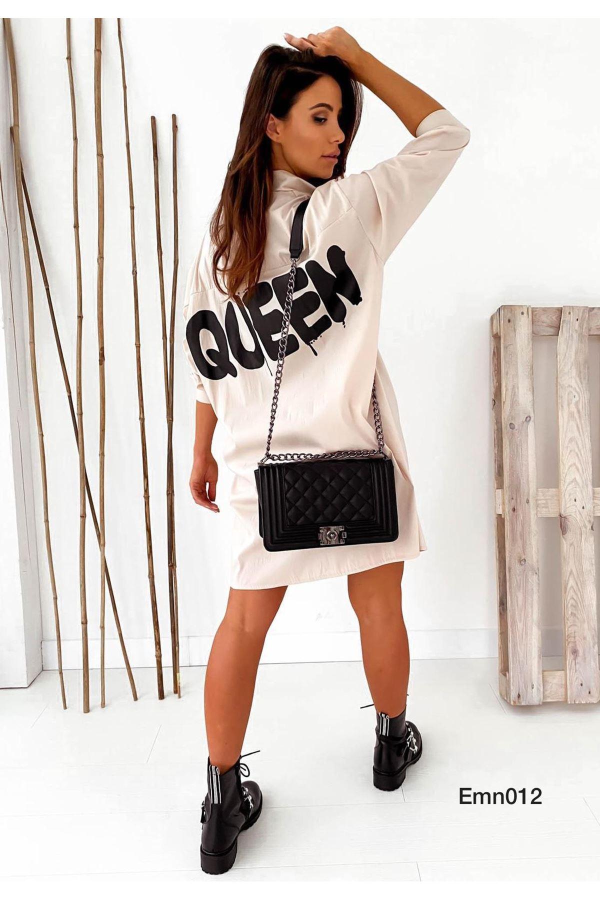 Salaş Model Queen Gömlek - TAŞ