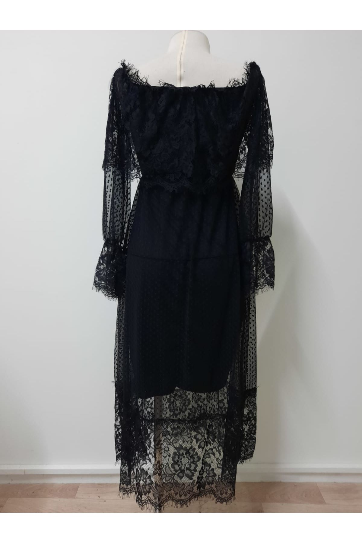 Madonna Midiboy Elbise - siyah