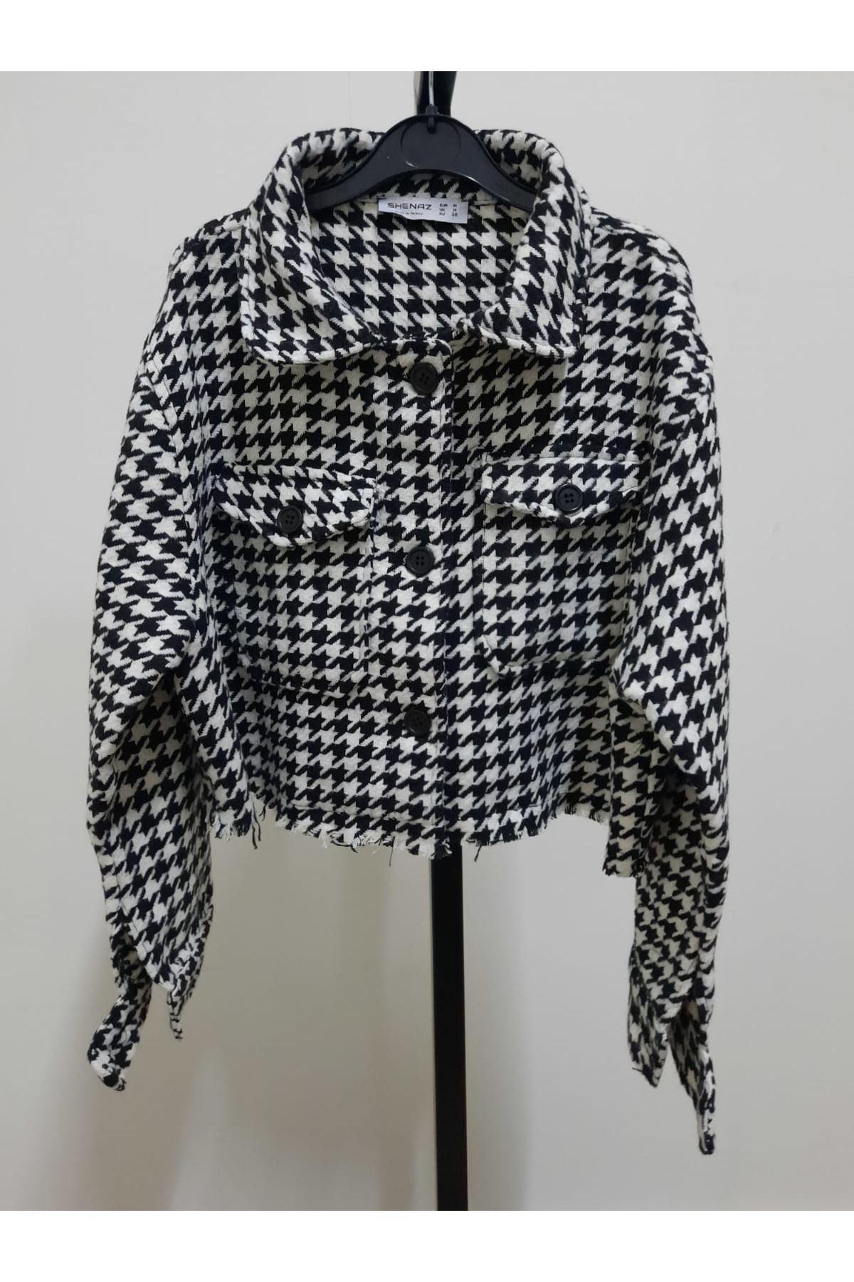 Kazayağı Kaşe Ceket - multi