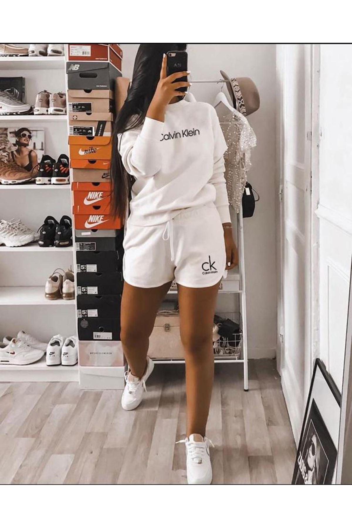 Calvin Klein İkili Takım Beyaz