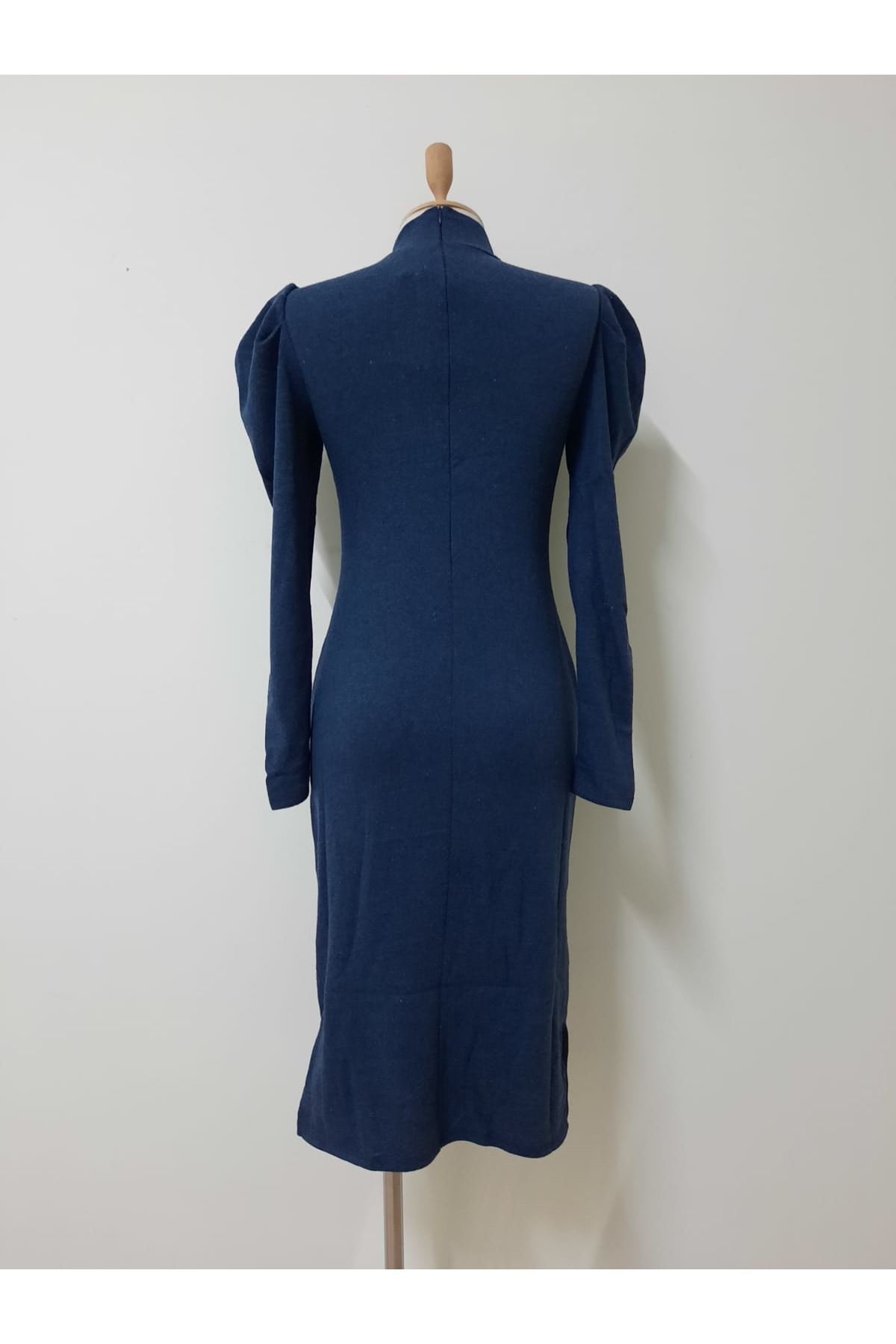 Prenses Omuz Triko Elbise - laci