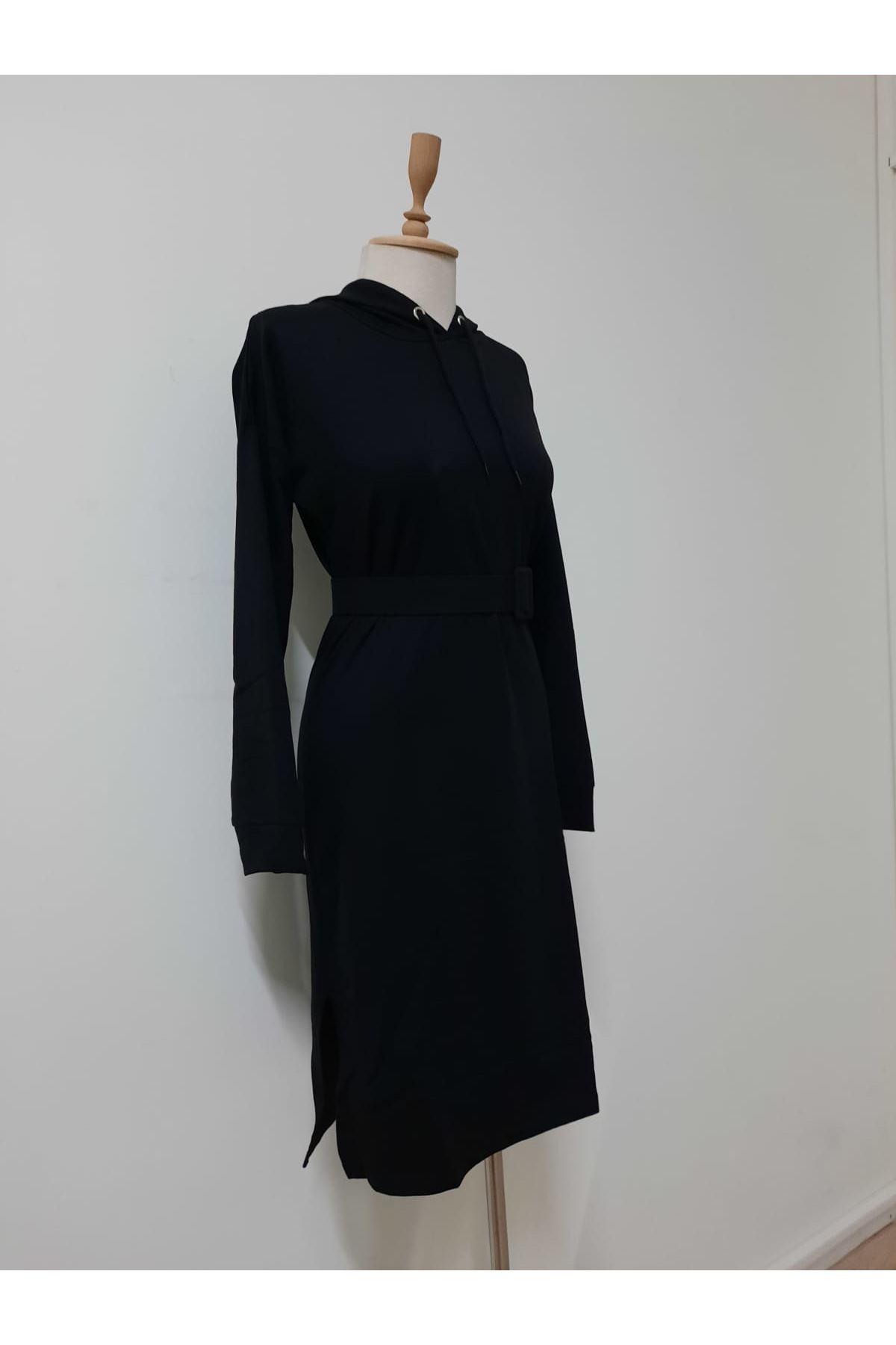 Rahat Spor Elbise - siyah