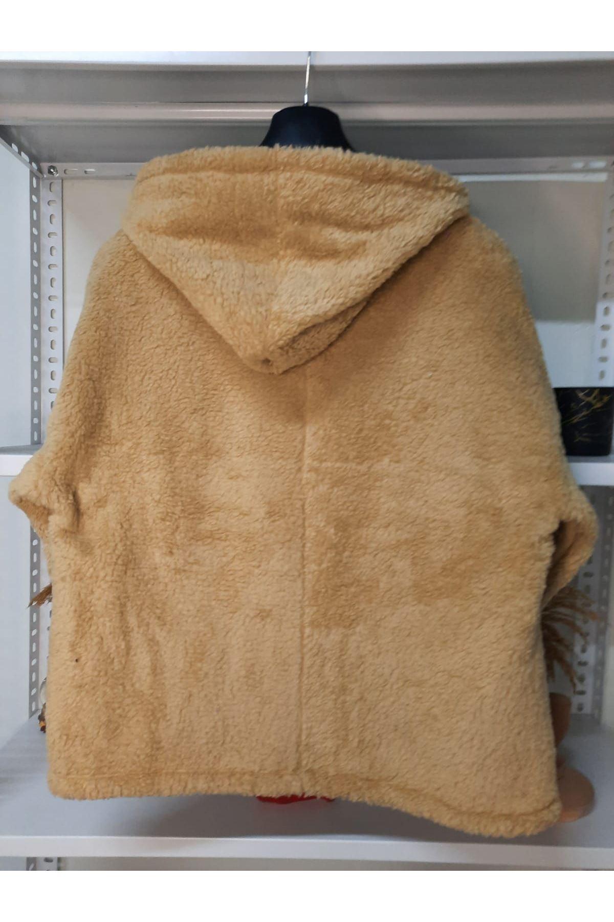 Yeni Sezon Peluş Ceket - VİZON