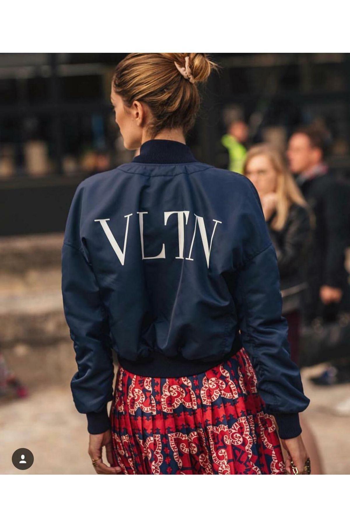 VLTN Bomber Ceket - siyah