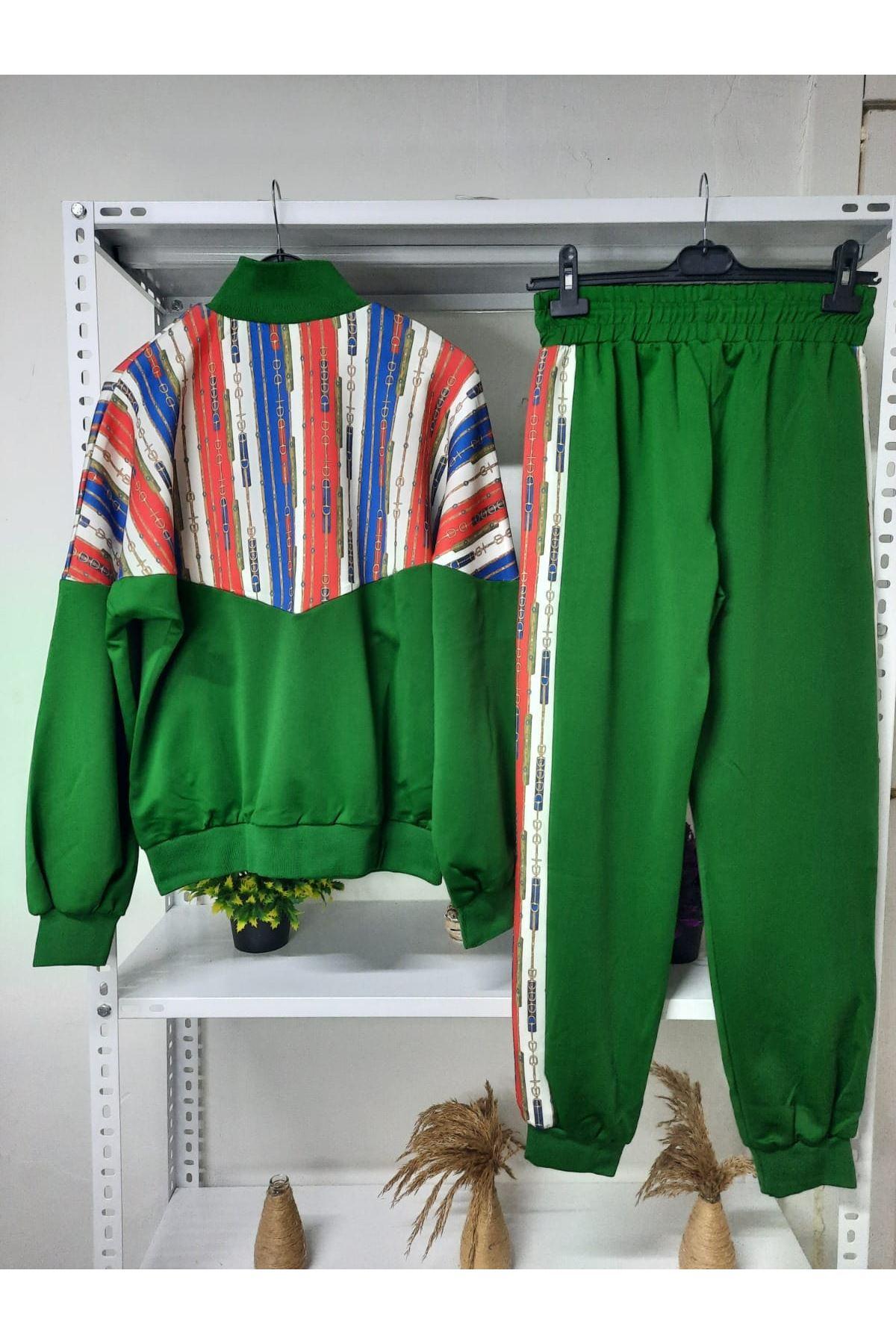 GG Desen Scuba Takım - yeşil