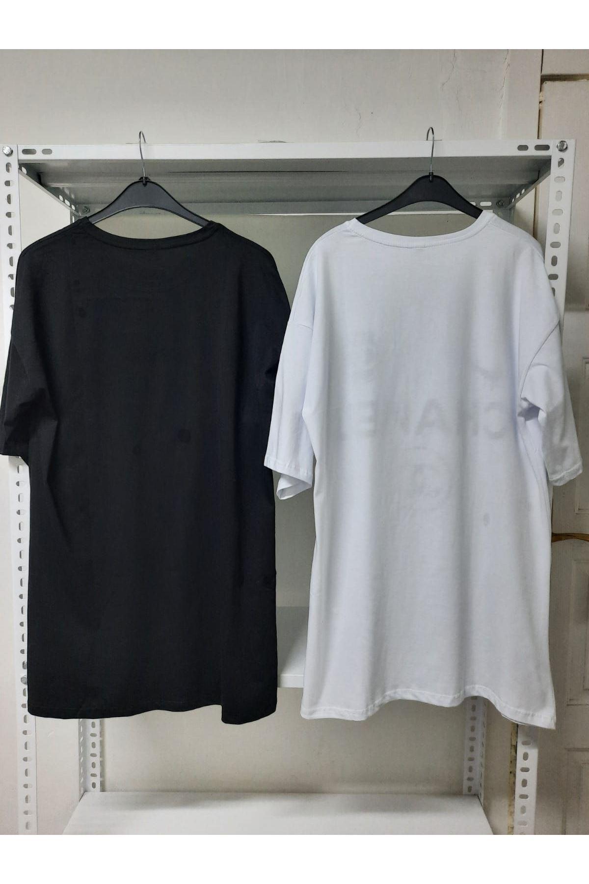 CC Tunik Elbise - beyaz
