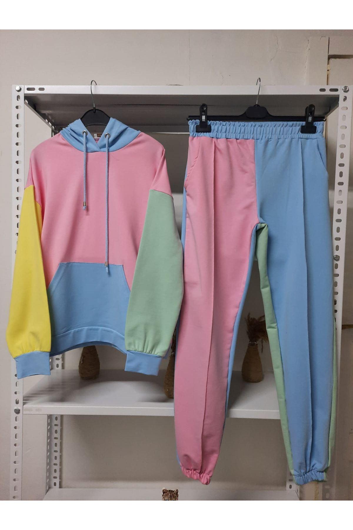 Multi Renkli Soft Takım - Multi