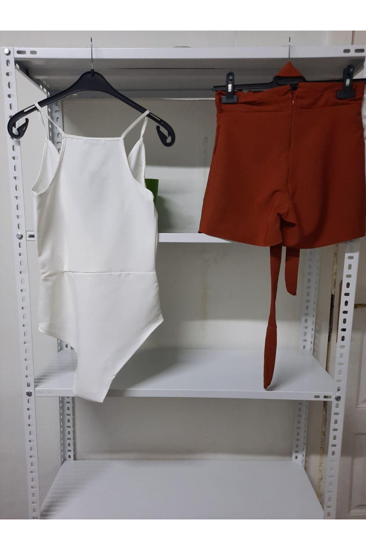 Bodysuit Şortlu Takım - multi
