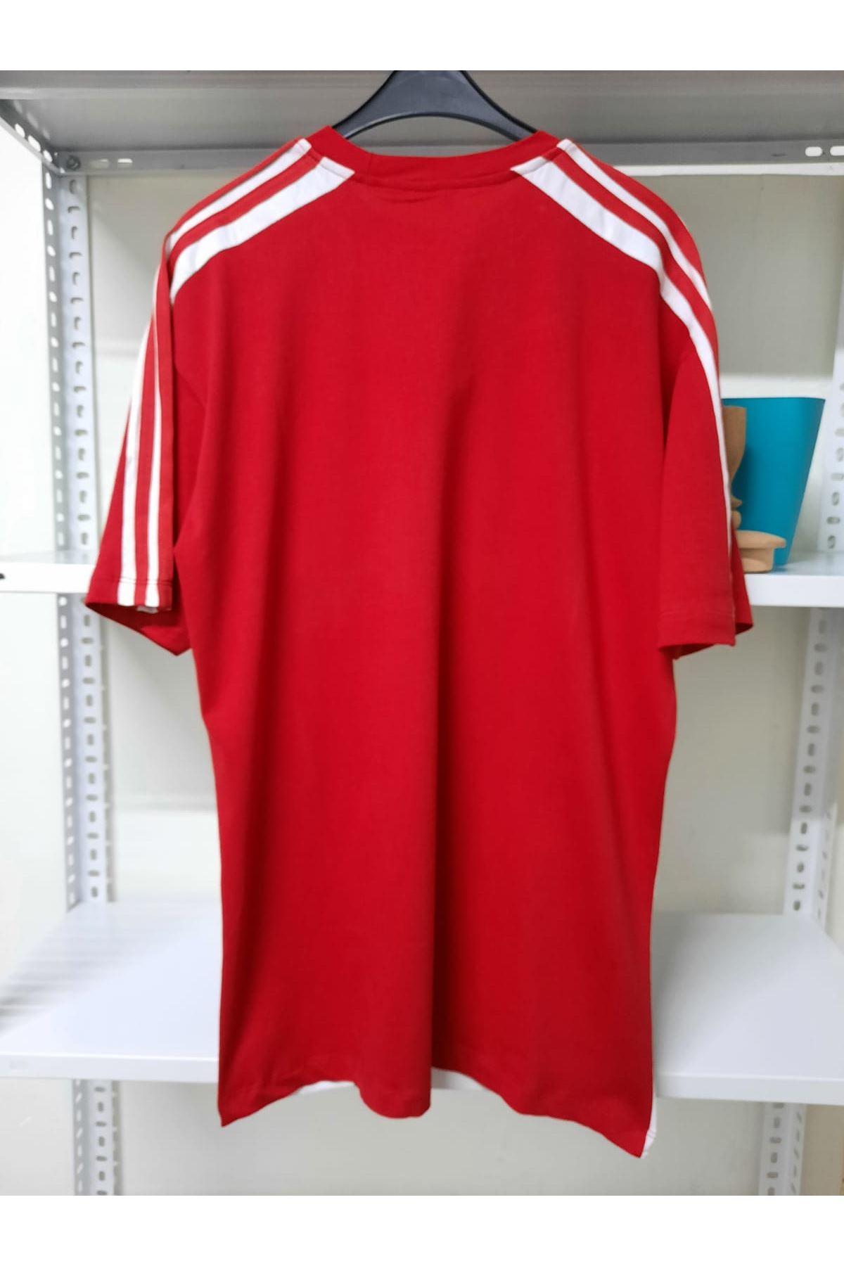 Add Oversize T-shirt - kırmızı