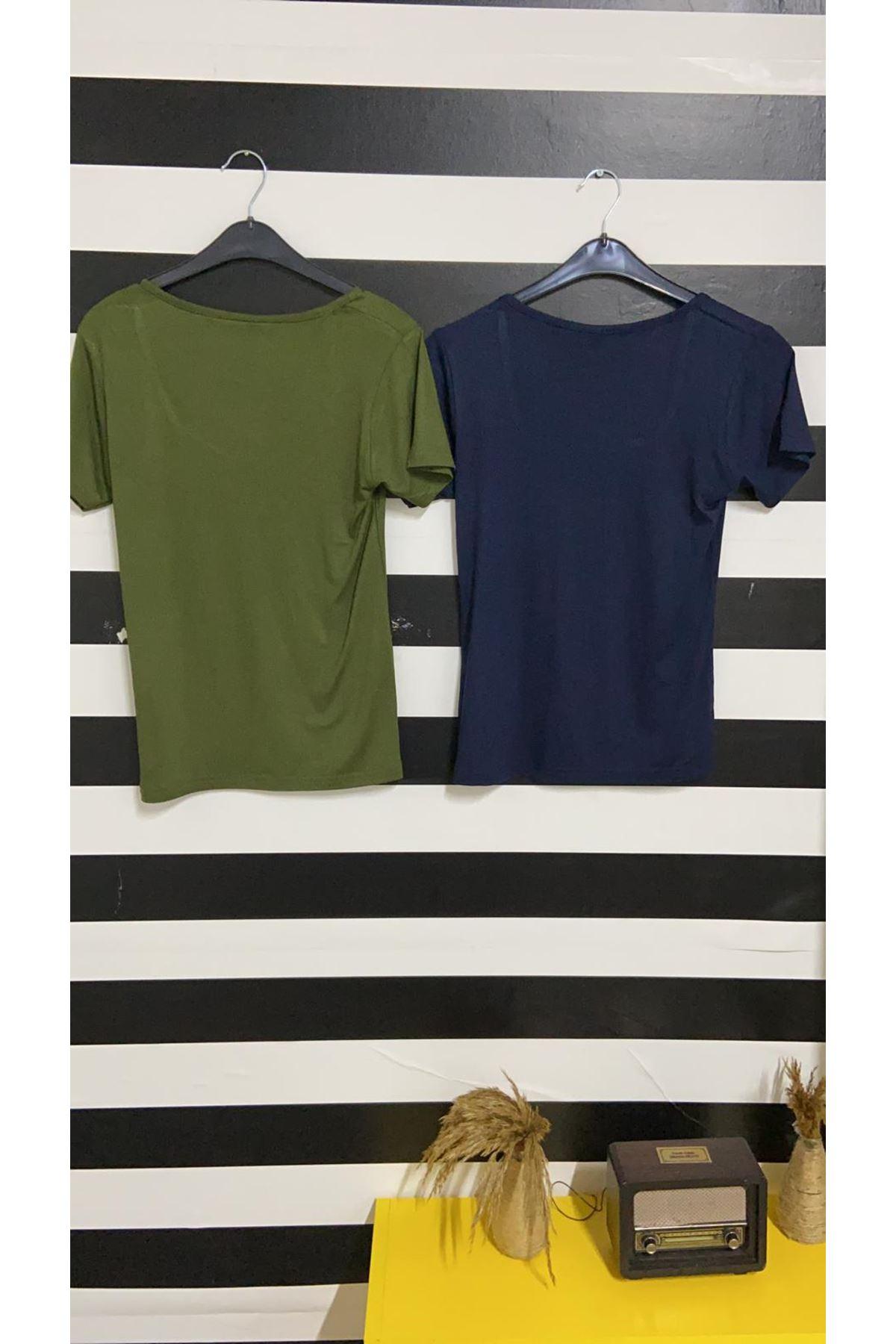 U Yaka Tshirt - LACİ
